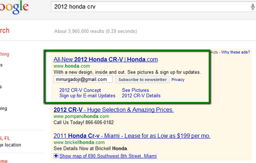 google_adwords_email_subscription_newsletter